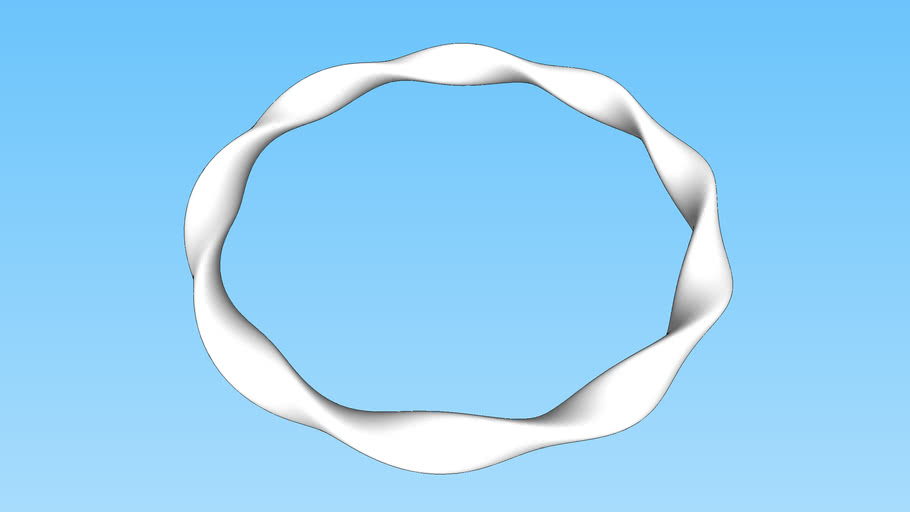 Ring with 4.5 twists