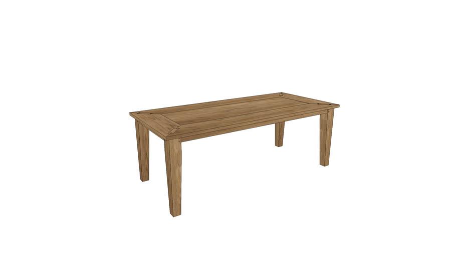 CM104, Cambridge Dining Table 220x100cm
