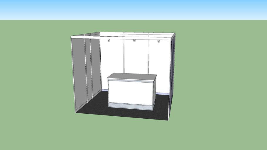 Booth Pameran 3x3