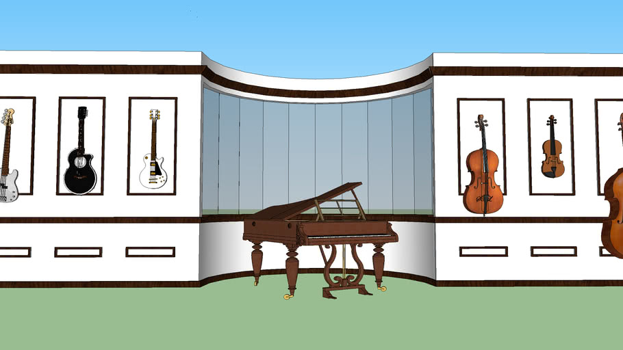 music room wall