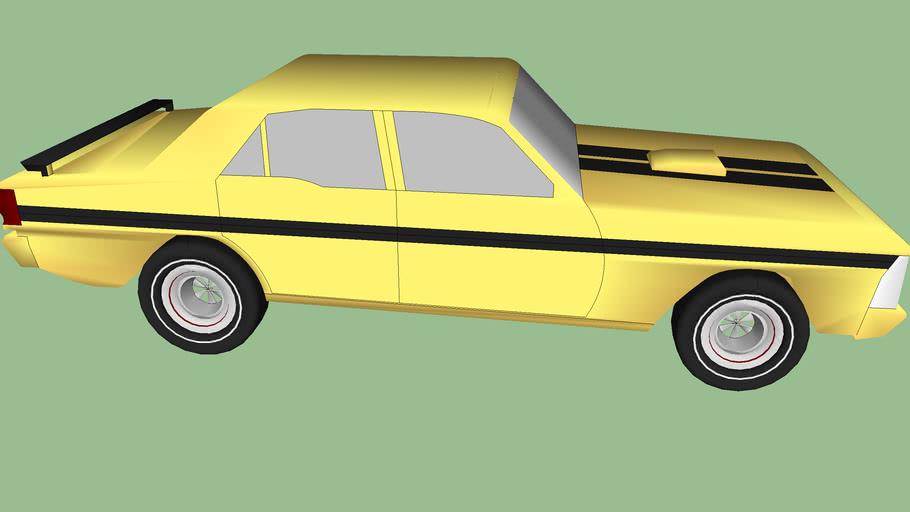 Ford AUS falcon XY GTHO phase 3 (1973)