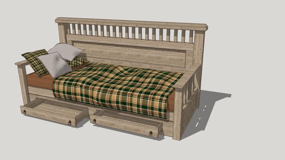 Sofa gỗ indochine, tropical, asian