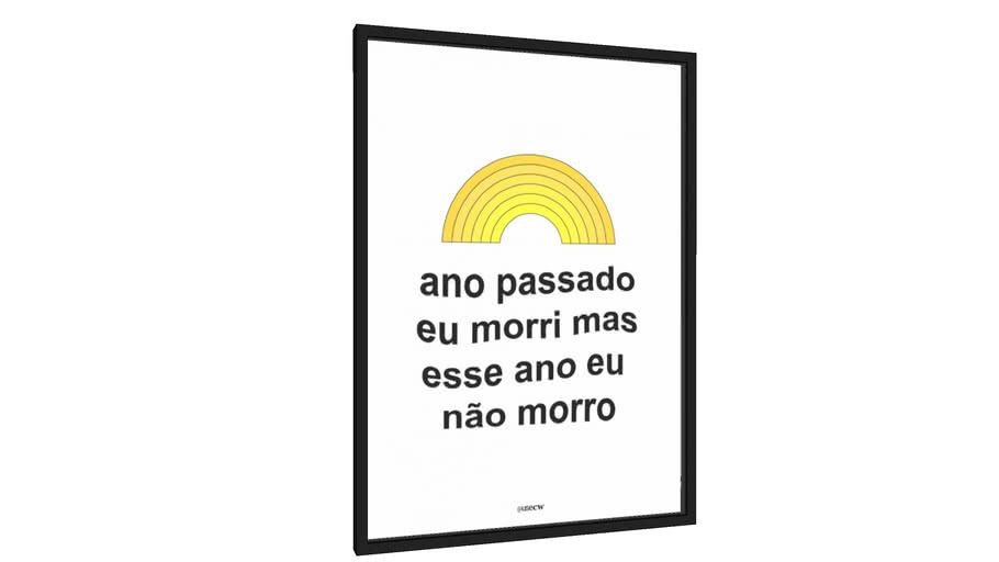 Quadro Amarelo - Galeria9, por cerqueira world