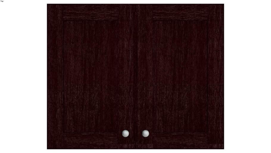 Wall Double Door