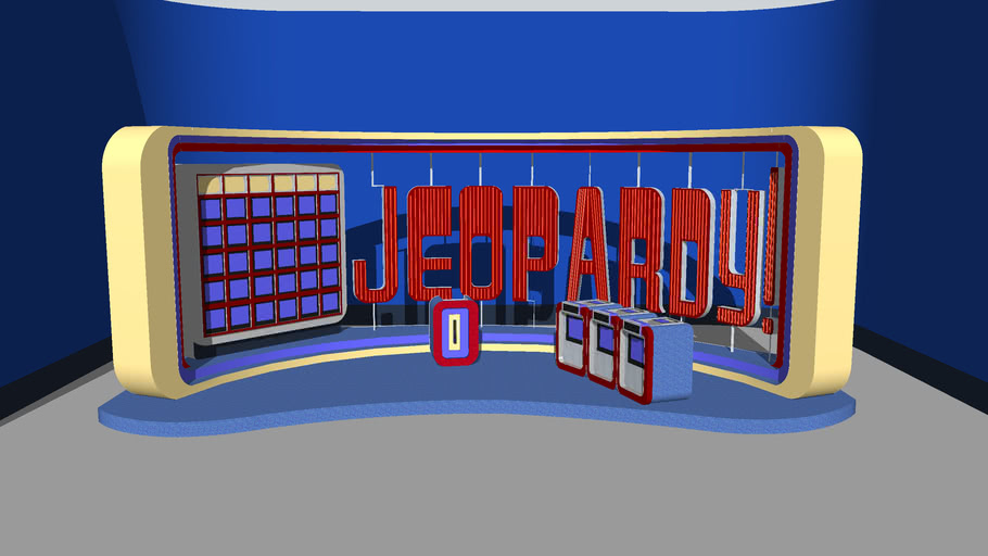 1984-1985 Jeopardy! set