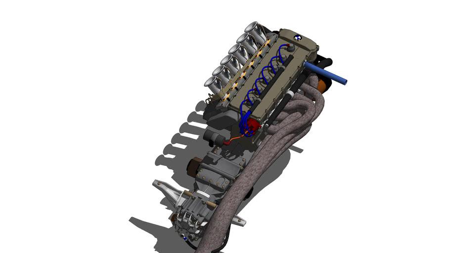 BMW M1 Race Engine 1979 DRM