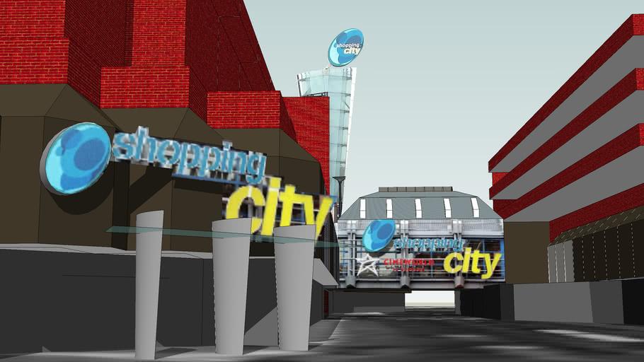 Wood Green shopping city (google earth)