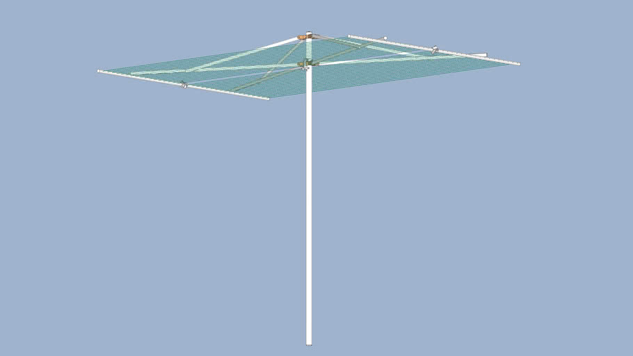clothesline breezecatcher parallel dryer