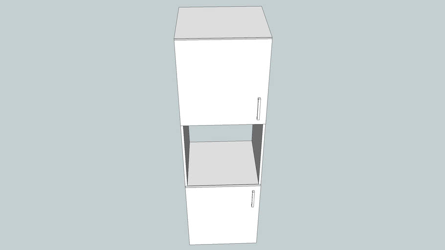 Hight Cupboard for integrated