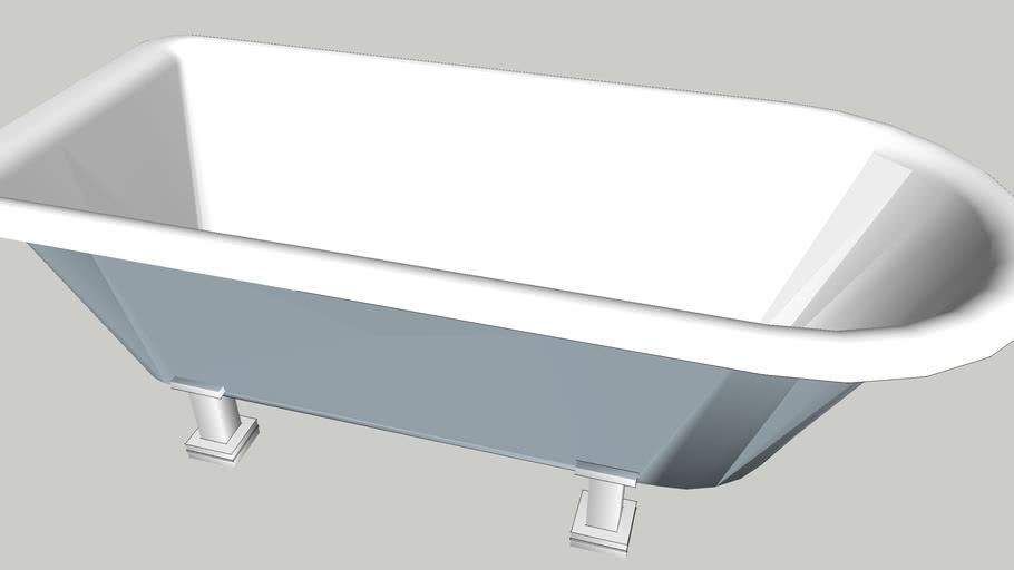 Bath tub Burlington Blenheim style with legs