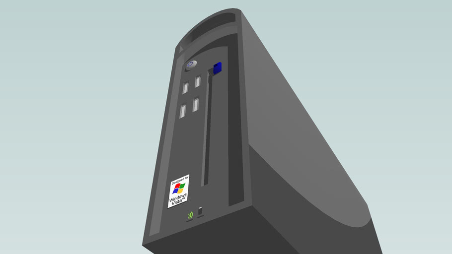 A Cool, Super-Detailed Concept Design for a PC
