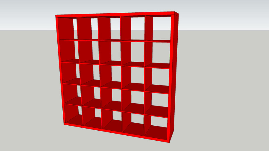 Ikea Kallax 5 x 5