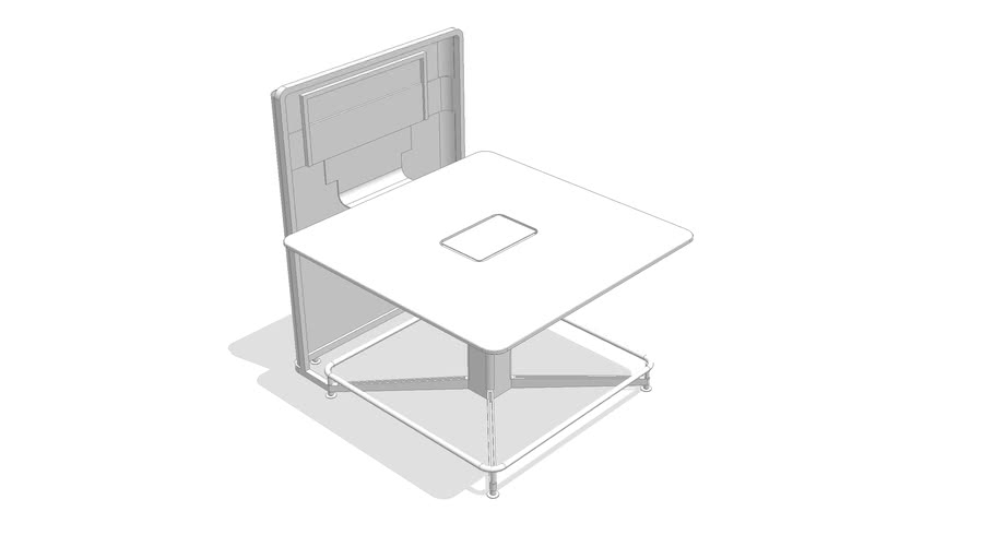 media:scape - Stool Height Table