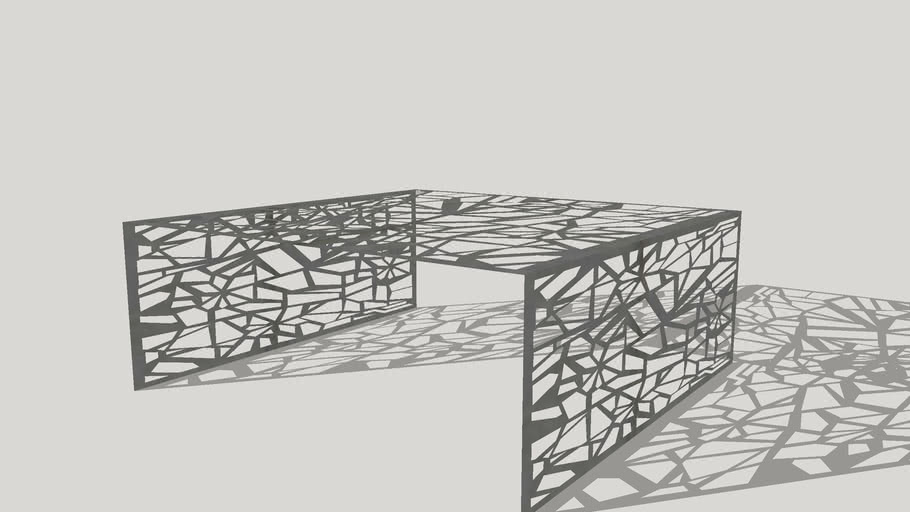 Design Aluminium Coffee Table Aranea Design Coffee Table 3d