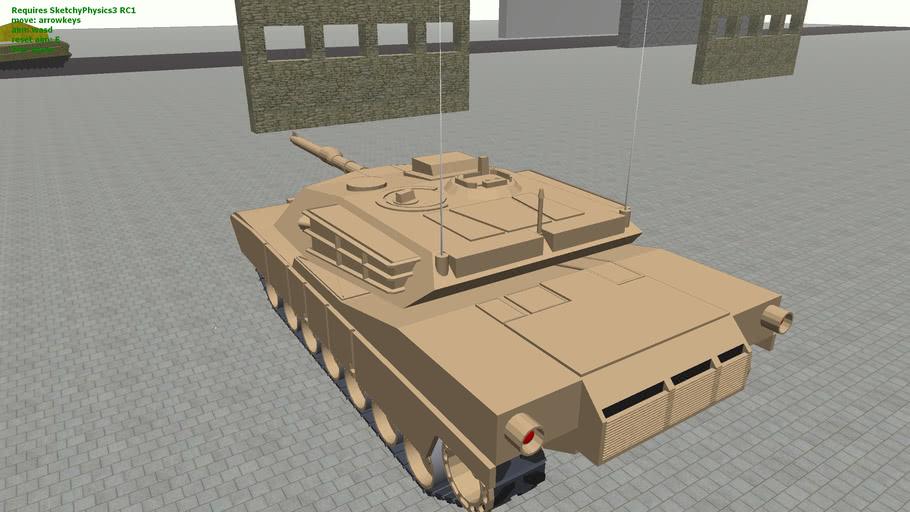 A Tank with lazyscript (sketchyphysics)