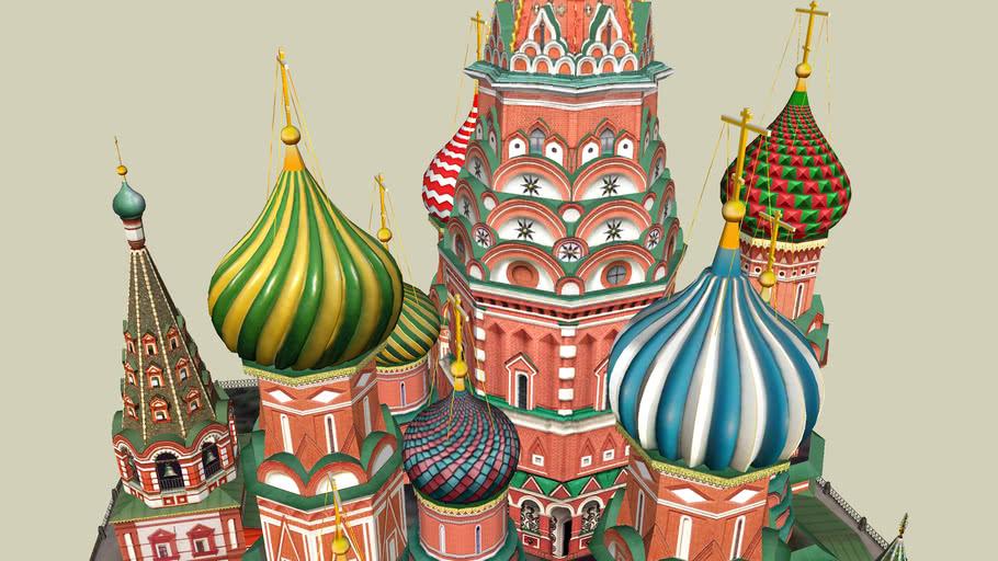 Saint Basil's Cathedral - Храм Василия Блаженного