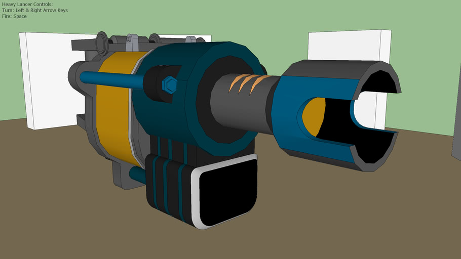 Heavy Lancer (SketchyPhysics)
