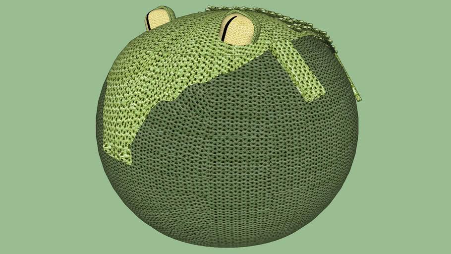 Puff Jacaré - Kinder Design
