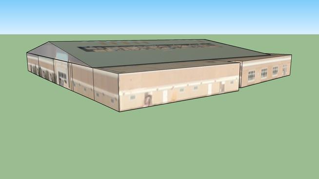 Gymnasium, Christopher High School, Gilroy, CA 95020, USA