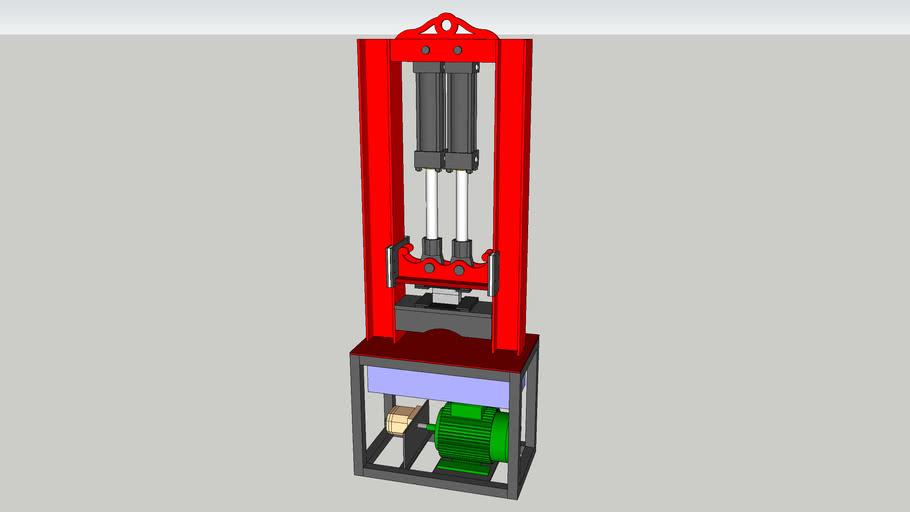 hydraulický kovací lis - hydraulic forging press