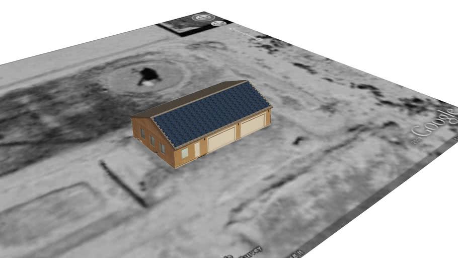 Desert Solar Shop for Google Earth