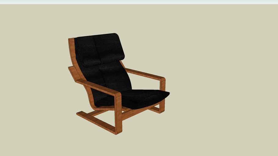 Chair_IKEA_Poem_Black