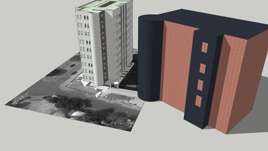 edificio simples
