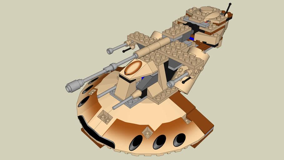 LEGO STAR WARS #7155 Trade Federation AAT