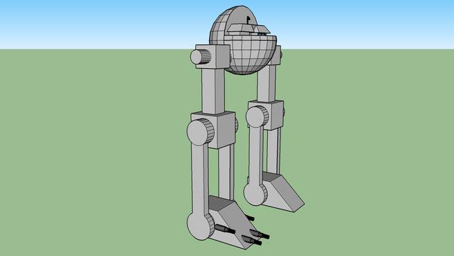 War Combat Robot Machin