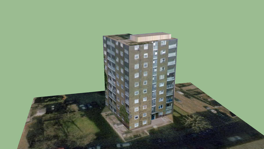 Wandsworth Block 5 (Part of London3dProject)