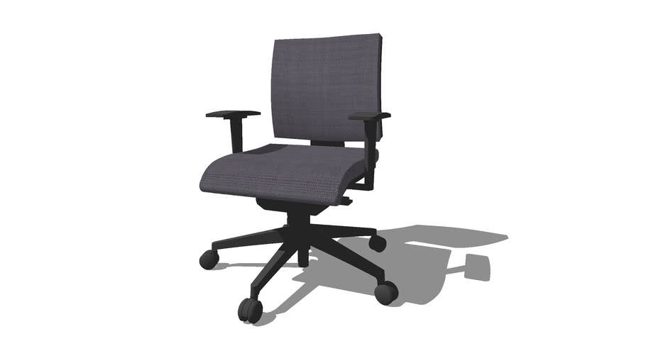 QLICK respaldo bajo, silla giratoria