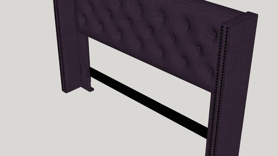 South Woodham Ferrers Upholstered Wingback Headboard