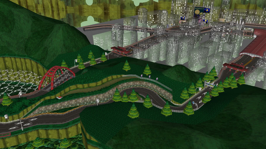 Mario Kart Wii - Moonview Highway