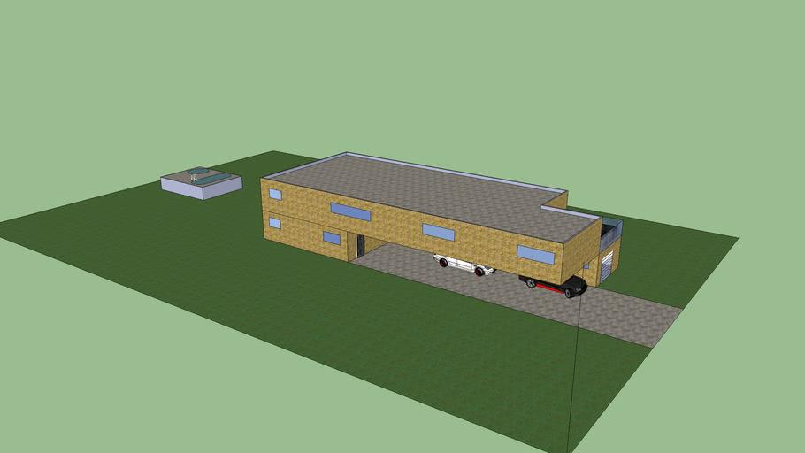 huis met carport