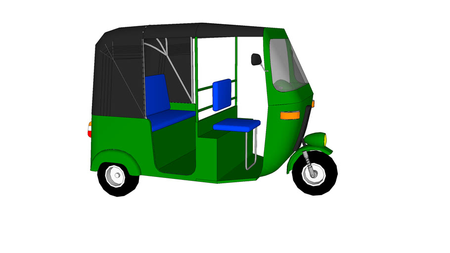 Bajaj RE 3Wheel Tuktuk By Cork