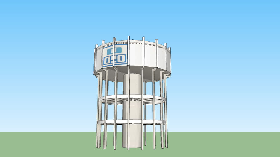 Tanque de Agua OSE Colonia del Sacramento