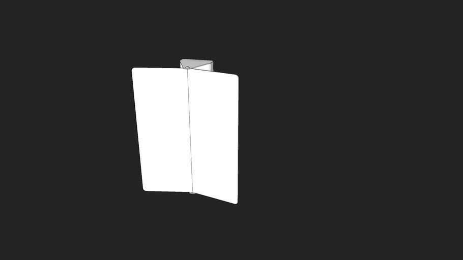 Nemo Volet Pivotant Wall Lamp