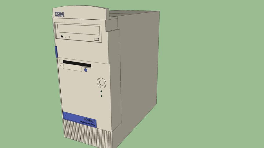 IBM PC 300GL desktop tower computer (6574)