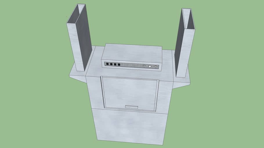 Champion Double Tank Dishwasher
