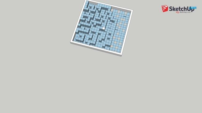 Maze 4mm balls