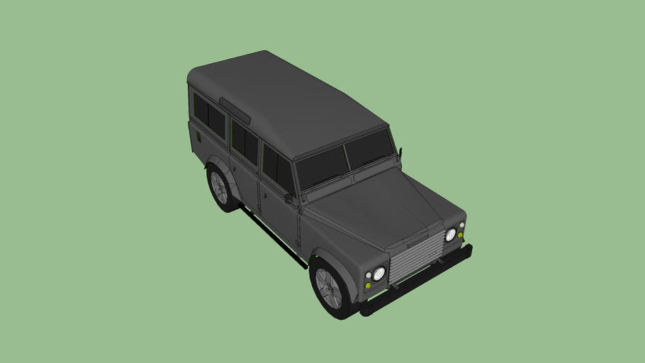 Royal Navy Special Forces Unarmed Land Rover Defender 110