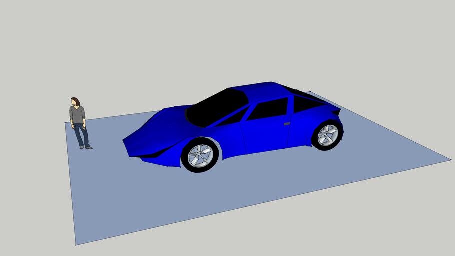 Gary Yang electric sports car