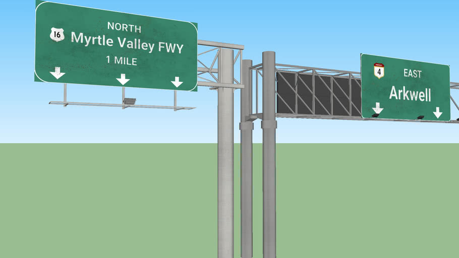 Interchange signs set 2