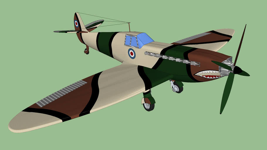 Spitfire Supermarine second attemp