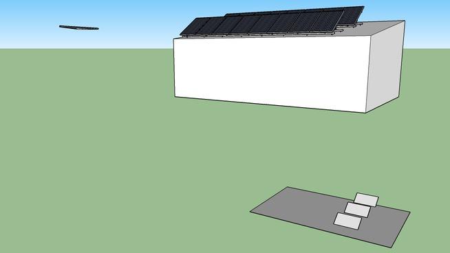 Alter-eko Mage solar 230Wp garaž 8°sklon