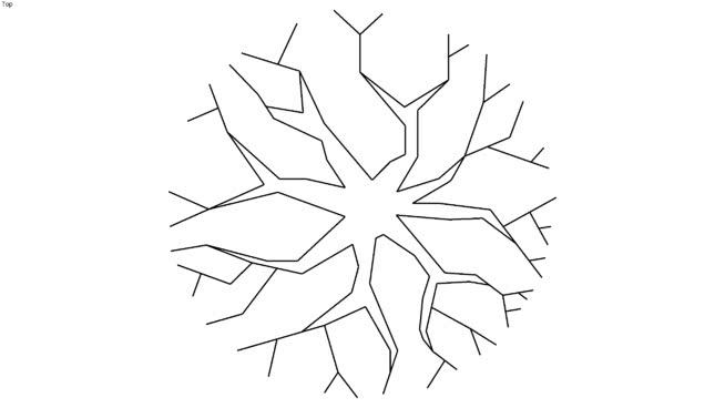 Tree Plans 2D Low Poly