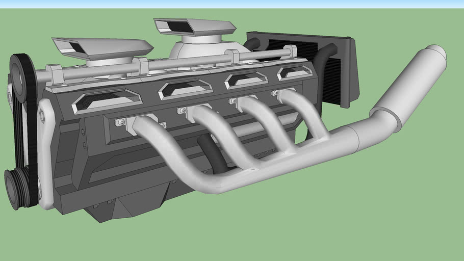 twin charged V8 ( W.I.P.)