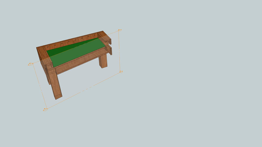 Foosball table - Ξυλινο ποδοσφαιρακι