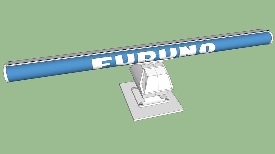 Radar Furuno Modelo 2117 - Antena 8 pés