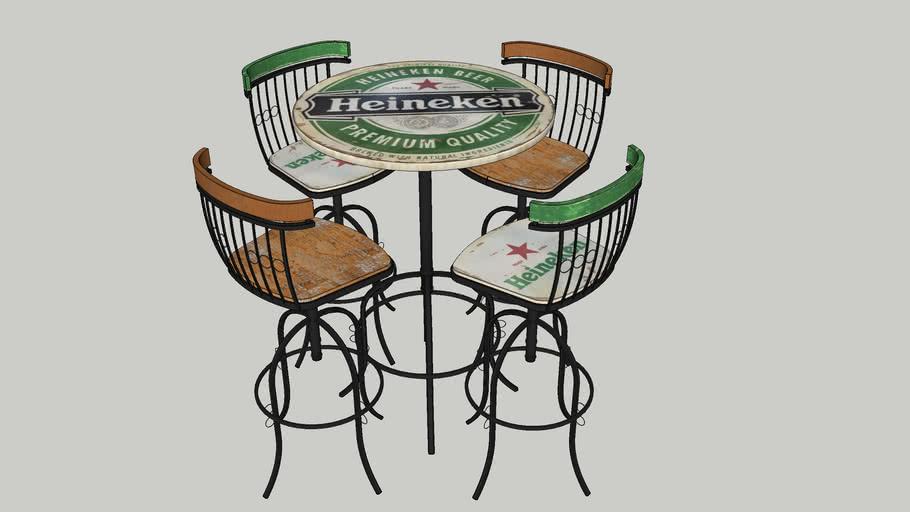 Mesa Bistrô Heineken